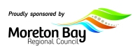 Logo: Proudly sponsored by Moreton Bay Regional Council